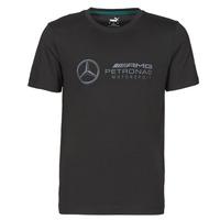 Kleidung Herren T-Shirts Puma MAPM LOGO TEE Schwarz