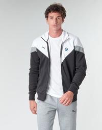 Kleidung Herren Jacken Puma BMW MMS MCS SWEAT JACKET Schwarz