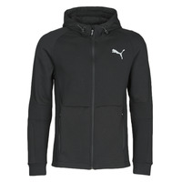 Kleidung Herren Trainingsjacken Puma EVOSTRIPE FZ HOODY Schwarz