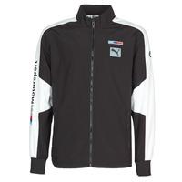 Kleidung Herren Trainingsjacken Puma BMW MMS WVN JACKET F Schwarz / Grau / Weiss