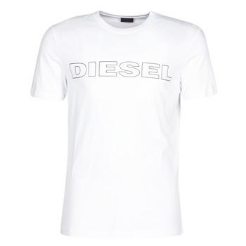 Kleidung Herren T-Shirts Diesel JAKE Weiss
