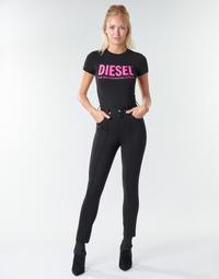 Kleidung Damen 5-Pocket-Hosen Diesel P-CUPERY Schwarz9xx