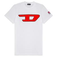 Kleidung Kinder T-Shirts Diesel TJUSTDIVISION Weiss