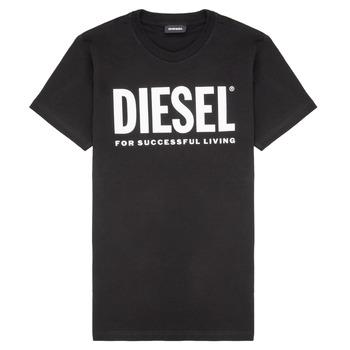 Kleidung Kinder T-Shirts Diesel TJUSTLOGO Schwarz