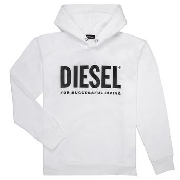 Kleidung Jungen Sweatshirts Diesel SDIVISION LOGO Weiss