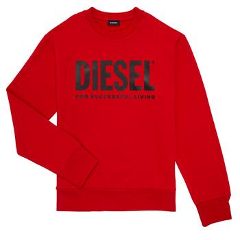Kleidung Jungen Sweatshirts Diesel SCREWDIVISION LOGO Rot