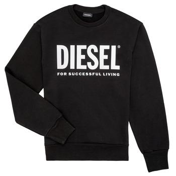 Kleidung Jungen Sweatshirts Diesel SCREWDIVISION LOGO Schwarz
