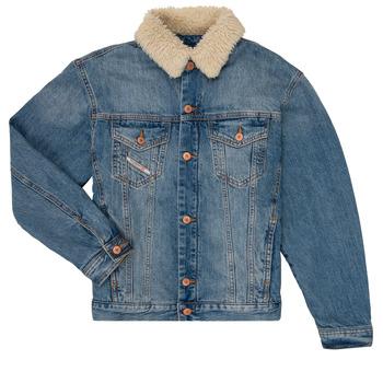 Kleidung Jungen Jeansjacken Diesel JRESKY Blau