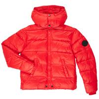 Kleidung Jungen Daunenjacken Diesel JSMITHYAWH Rot