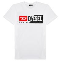 Kleidung Kinder T-Shirts Diesel TDIEGOCUTY Weiss