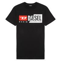 Kleidung Kinder T-Shirts Diesel TDIEGOCUTY Schwarz