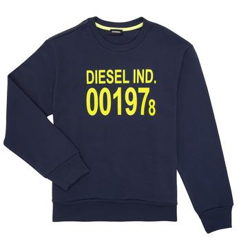 Kleidung Kinder Sweatshirts Diesel SGIRKJ3 Blau