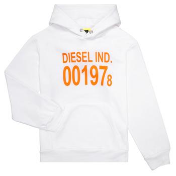 Kleidung Kinder Sweatshirts Diesel SGIRKHOOD Weiss