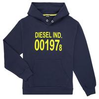 Kleidung Kinder Sweatshirts Diesel SGIRKHOOD Blau