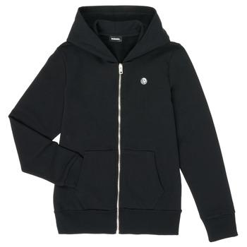 Kleidung Jungen Sweatshirts Diesel SROGER Schwarz