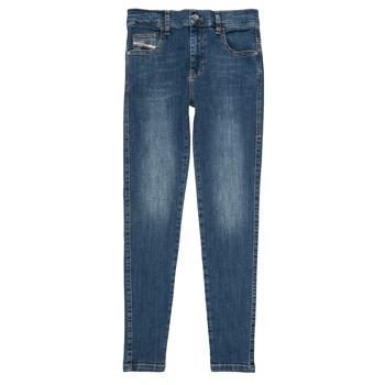 Kleidung Mädchen Slim Fit Jeans Diesel D-SLANDY HIGH Blau