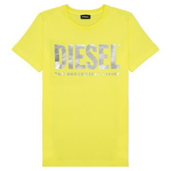 Kleidung Mädchen T-Shirts Diesel TSILYWX Gelb