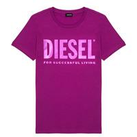 Kleidung Mädchen T-Shirts Diesel TSILYWX Rose