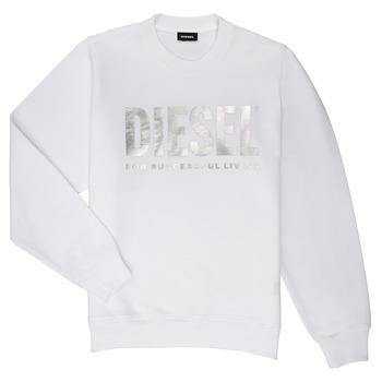 Kleidung Mädchen Sweatshirts Diesel SANGWX Weiss