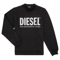 Kleidung Mädchen Sweatshirts Diesel SANGWX Schwarz