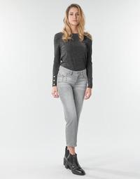 Kleidung Damen Straight Leg Jeans Freeman T.Porter LOREEN DENIM Grau