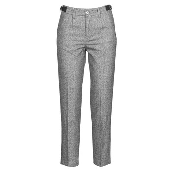 Kleidung Damen 5-Pocket-Hosen Freeman T.Porter SHELBY MOKKA Grau