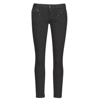Kleidung Damen 5-Pocket-Hosen Freeman T.Porter ALEXA CROPPED S-SDM Schwarz