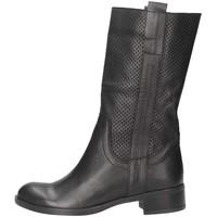 Schuhe Herren Klassische Stiefel Made In Italia 0415 Stiefel Frau schwarz schwarz