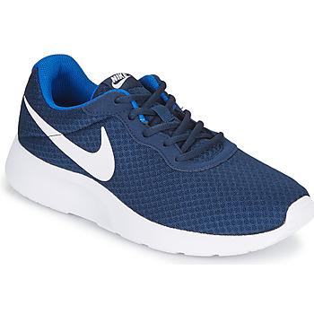Schuhe Herren Sneaker Low Nike TANJUN Blau / Weiss