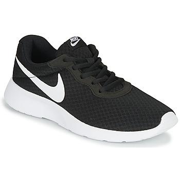 Schuhe Damen Sneaker Low Nike TANJUN Schwarz / Weiss