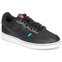 Schuhe Damen Sneaker Low Nike COURT VISION LOW PREM Schwarz