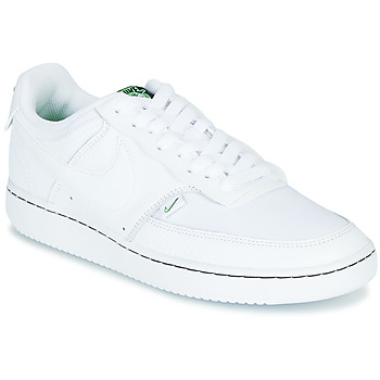 Schuhe Damen Sneaker Low Nike COURT VISION LOW PREM Weiss