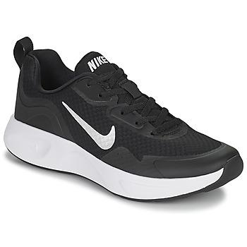 Schuhe Damen Multisportschuhe Nike WEARALLDAY Schwarz / Weiss