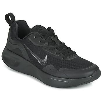 Schuhe Damen Multisportschuhe Nike WEARALLDAY Schwarz