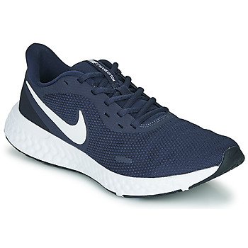 Schuhe Herren Laufschuhe Nike REVOLUTION 5 Blau