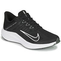 Schuhe Herren Laufschuhe Nike QUEST 3 Schwarz / Weiss