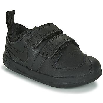Schuhe Kinder Sneaker Low Nike PICO 5 TD Schwarz