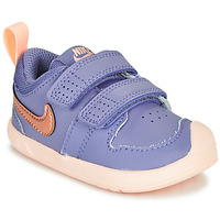Schuhe Mädchen Sneaker Low Nike PICO 5 TD Violett / Rose