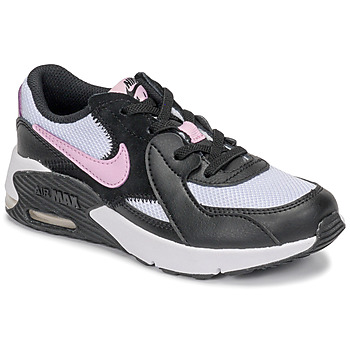 Schuhe Mädchen Sneaker Low Nike AIR MAX EXCEE PS Schwarz / Weiss / Rose
