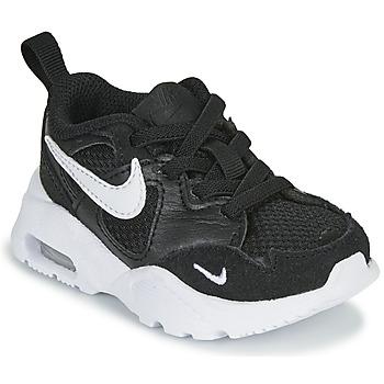 Schuhe Kinder Sneaker Low Nike AIR MAX FUSION TD Schwarz / Weiss