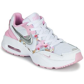Schuhe Mädchen Sneaker Low Nike AIR MAX FUSION SE GS Weiss / Rose