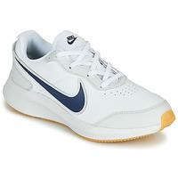Schuhe Jungen Sneaker Low Nike VARSITY LEATHER GS Weiss / Blau