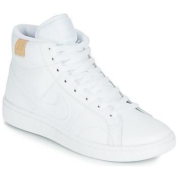Schuhe Damen Sneaker Low Nike COURT ROYALE 2 MID Weiss