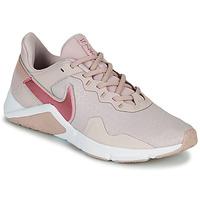 Schuhe Damen Multisportschuhe Nike LEGEND ESSENTIAL 2 Beige / Rose