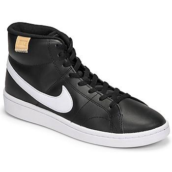 Schuhe Herren Sneaker Low Nike COURT ROYALE 2 MID Schwarz / Weiss