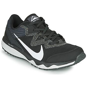 Schuhe Herren Laufschuhe Nike JUNIPER TRAIL Schwarz / Weiss