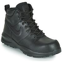 Schuhe Kinder Sneaker Low Nike MANOA LTR GS Schwarz
