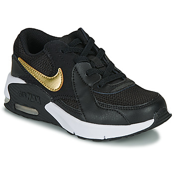 Schuhe Kinder Sneaker Low Nike AIR MAX EXCEE PS Schwarz / Gold