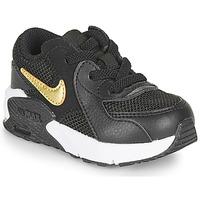 Schuhe Kinder Sneaker Low Nike AIR MAX EXCEE TD Schwarz / Gold