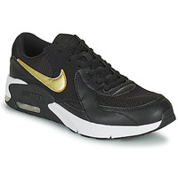 Schuhe Kinder Sneaker Low Nike AIR MAX EXCEE GS Schwarz / Gold
